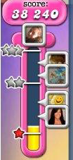 Candy Crush: Stars - Points Meter