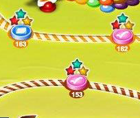 Candy Crush: Stars on Map