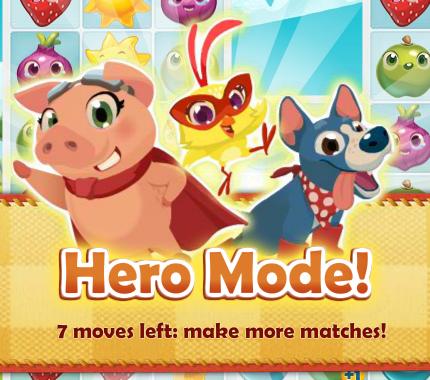 Farm Heroes: Hero Mode!