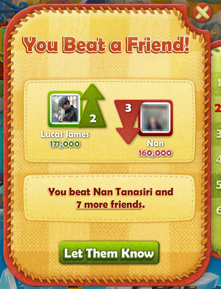 Farm Heroes: Beat a Friend