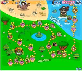 Papa Pear: Map
