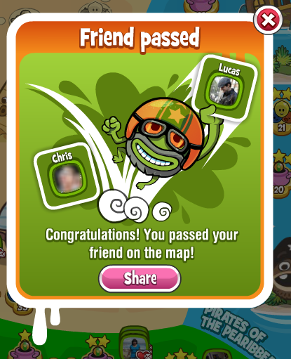 Papa Pear: Passed a Friend