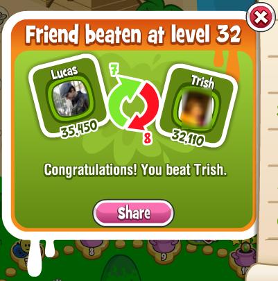 Papa Pear: Beat a Friend