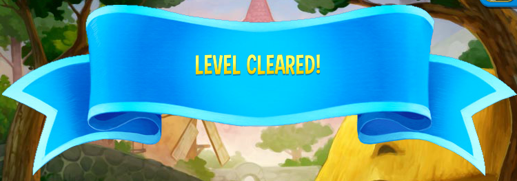 Pet Rescue Level Completed
